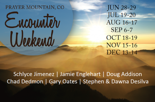 These intimate gatherings are held throughout the year at Prayer Mountain, CO…