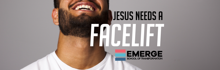Jesus needs a facelift