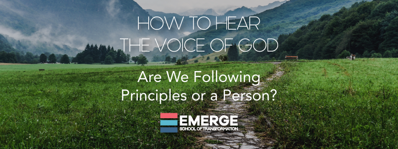 How to Hear the Voice of God Part 2
