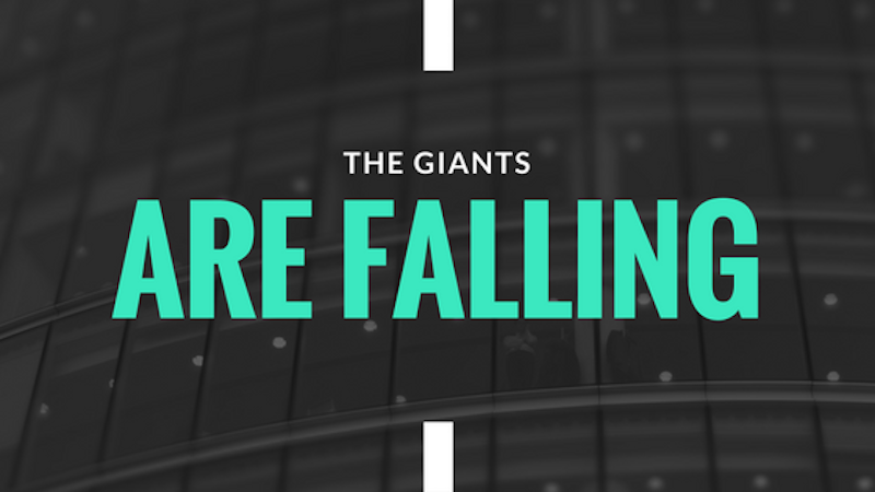A Kiss from Heaven – The Giants Are Falling