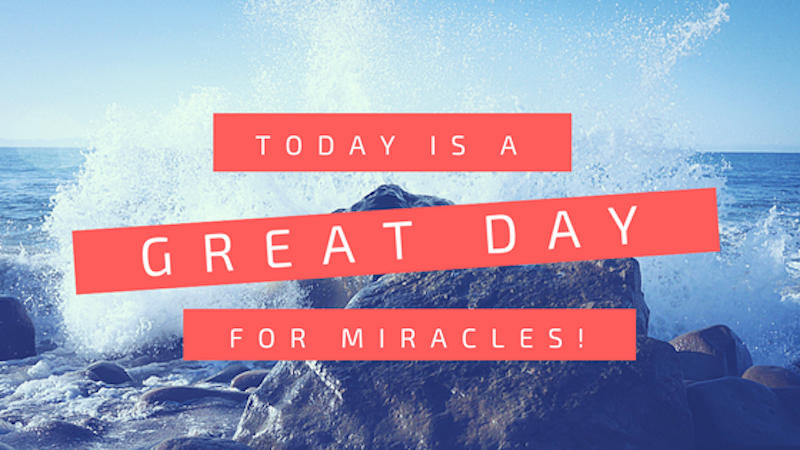 A Kiss from Heaven – Today's a Great Day for Miracles!