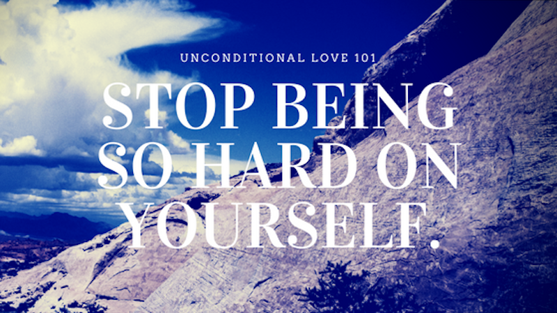 A Kiss from Heaven – Stop Being So Hard On Yourself