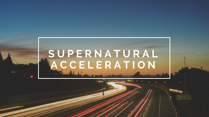 A Kiss from Heaven – Supernatural Acceleration