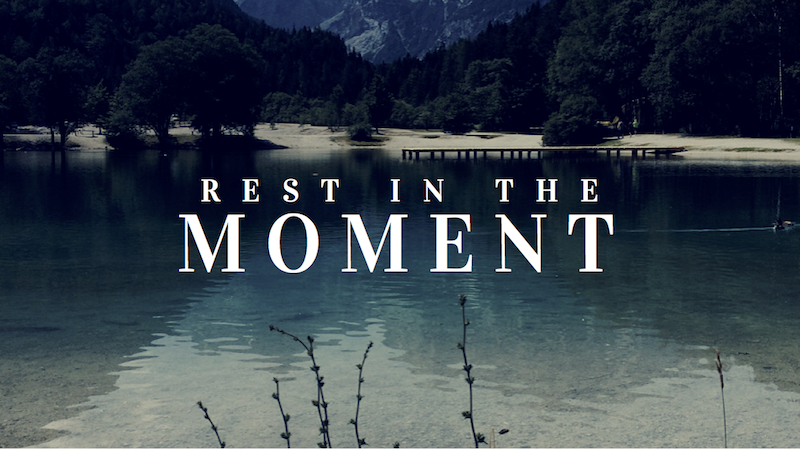 A Kiss from Heaven – Rest in This Moment