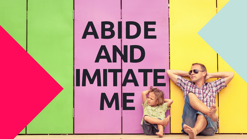 This Week's Kiss & Schlyce.tv Episode – Abide and Imitate Me