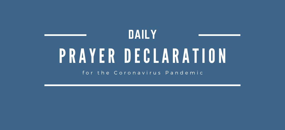 Daily Prayer Declaration