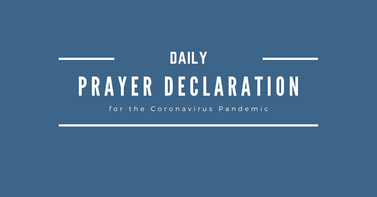 Daily Prayer Declaration