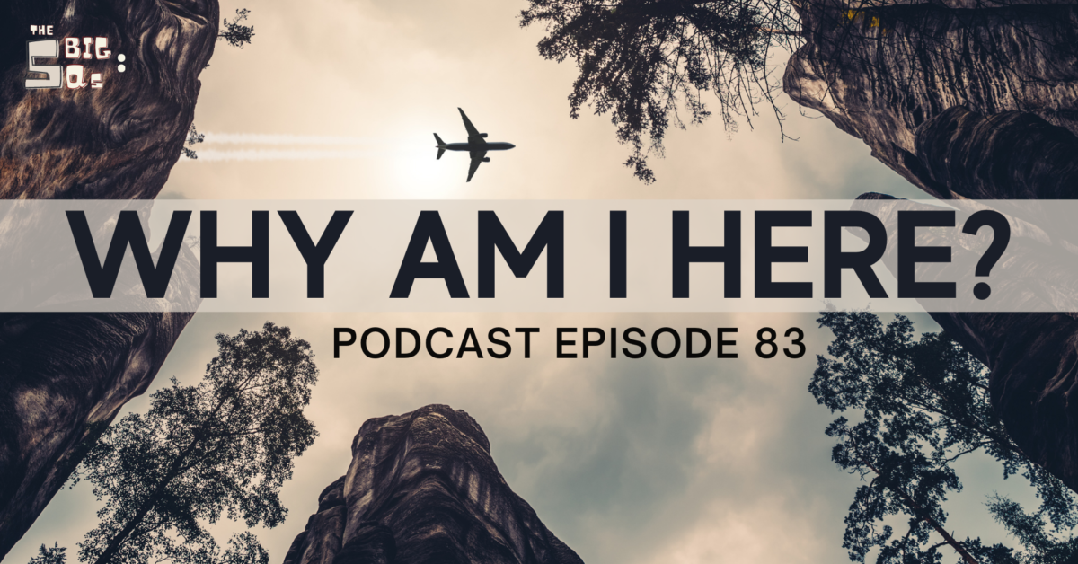 Episode 83: The 5 Big Qs – Why am I here?